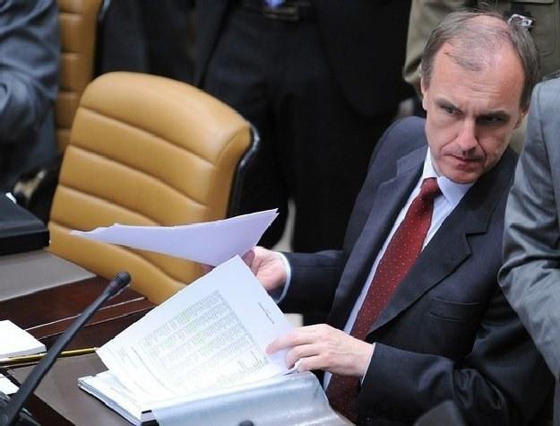 Szef MON Bogdan Klich /AFP