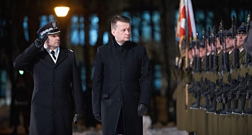 Szef MON Mariusz Błaszczak /Bartosz Krupa /East News