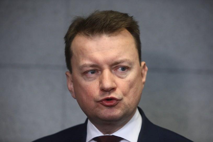 Szef MON Mariusz Błaszczak /STANISLAW KOWALCZUK /East News