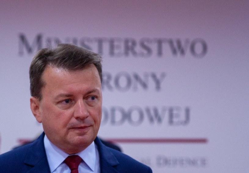 Szef MON Mariusz Błaszczak /Grzegorz Banaszak /Reporter