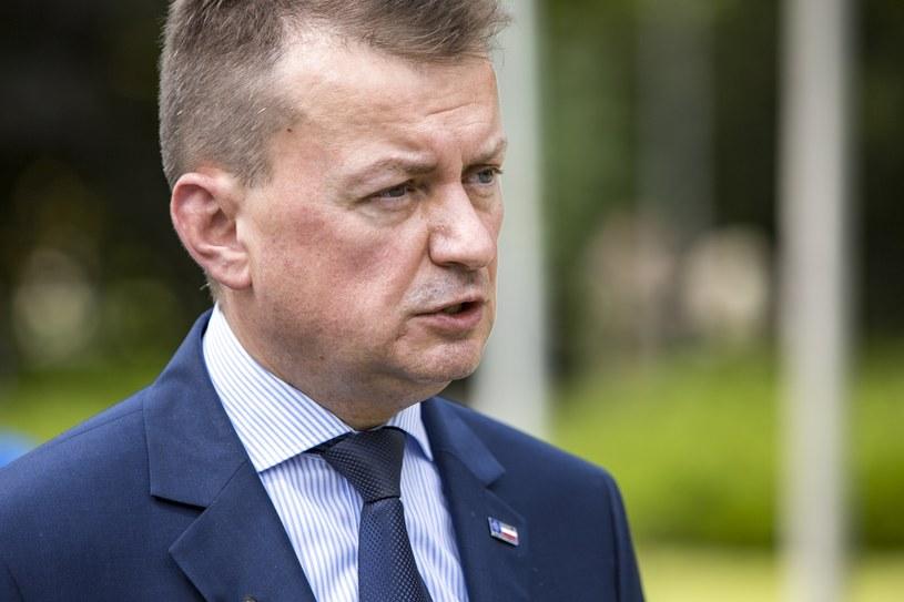 Szef MON Mariusz Błaszczak /Grzegorz Bukala /Reporter