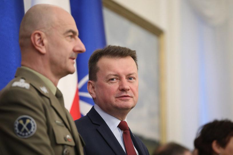 Szef MON Mariusz Błaszczak /Andrzej Iwańczuk /Reporter