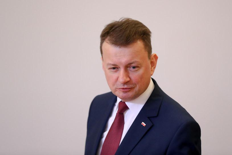 Szef MON Mariusz Błaszczak /fot. Andrzej Iwanczuk /Reporter