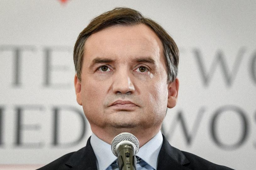Szef MS i Prokurator Generalny Zbigniew Ziobro /Jacek Domiński /Reporter