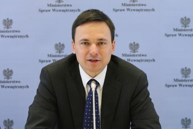 Szef MSW Jacek Cichocki / fot. S. Kowalczuk /East News