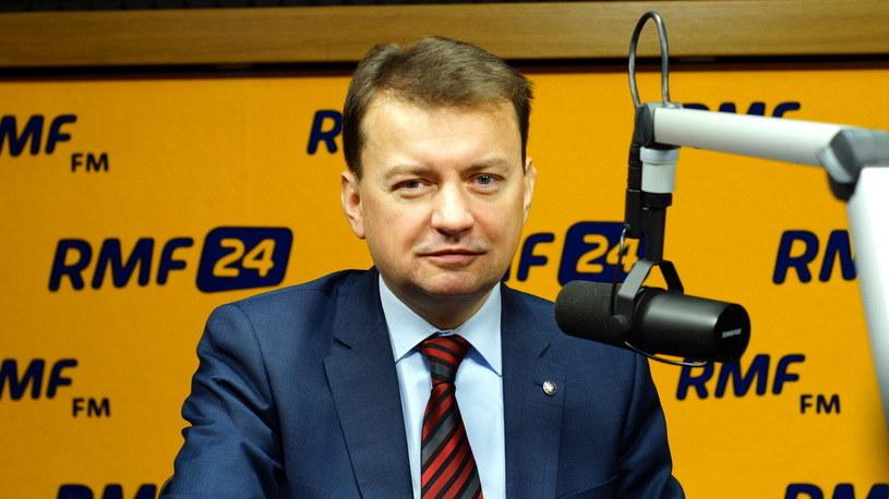 Szef MSWiA Mariusz Błaszczak /RMF