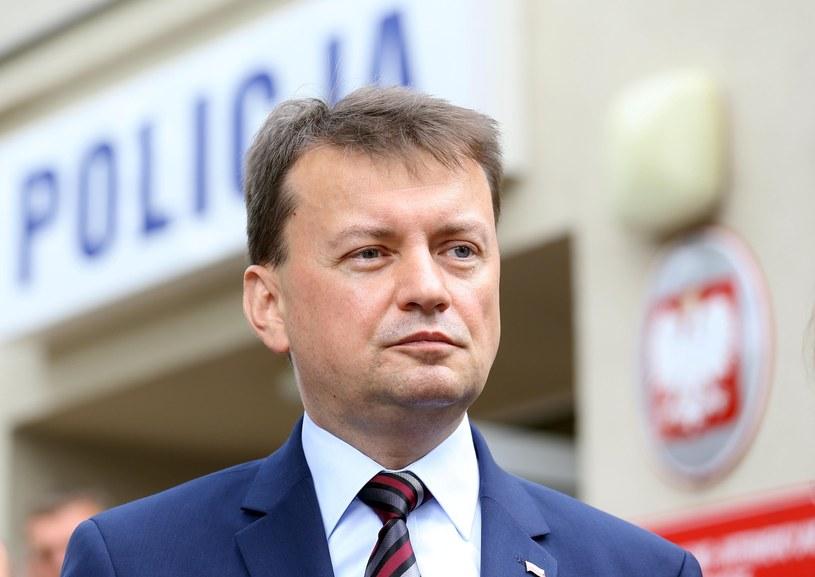 Szef MSWiA Mariusz Błaszczak /Mariusz Grzelak /Reporter