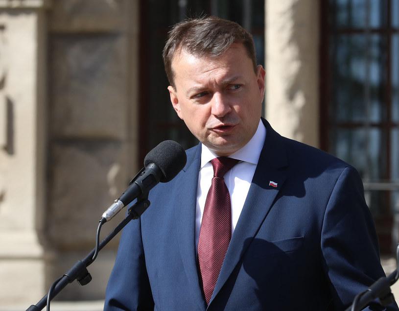 Szef MSWiA Mariusz Błaszczak /Andrzej Szkocki /East News
