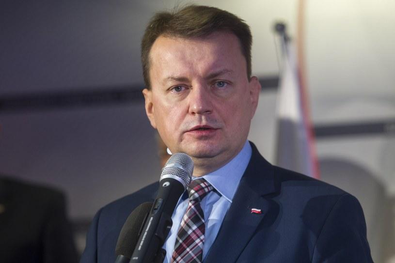 Szef MSWiA Mariusz Błaszczak /Wojciech Olkuśnik /East News