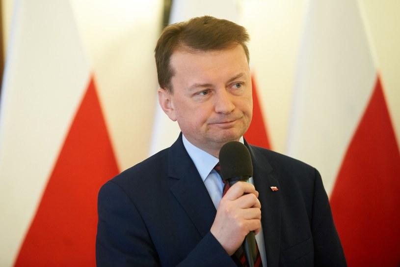 Szef MSWiA Mariusz Błaszczak /LUKASZ SZELAG/REPORTER /&nbsp