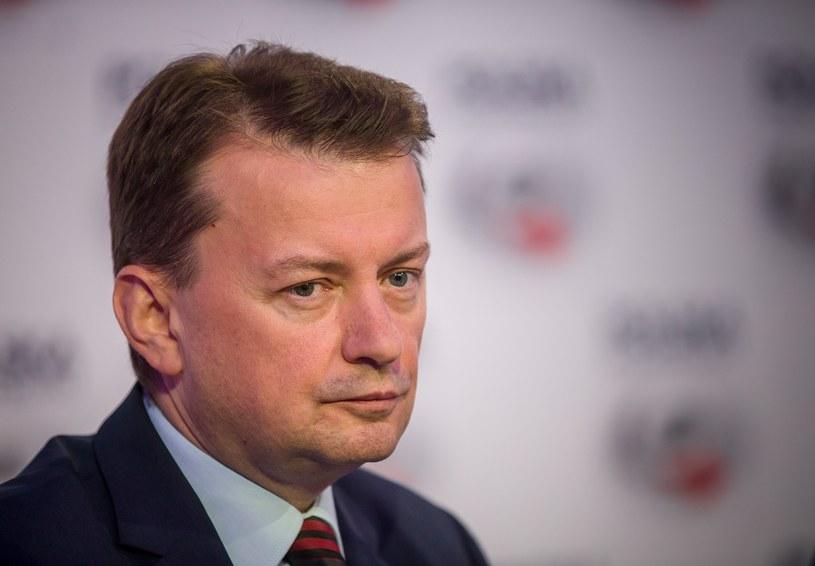Szef MSWiA Mariusz Błaszczak /fot. Michal Wozniak /East News