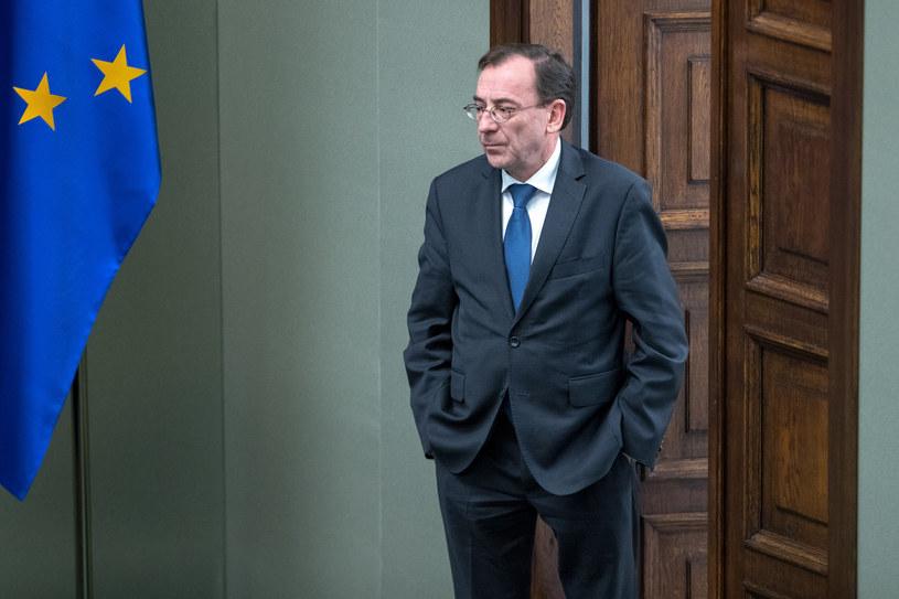 Szef MSWiA Mariusz Kamiński /fot. Andrzej Iwanczuk /Reporter