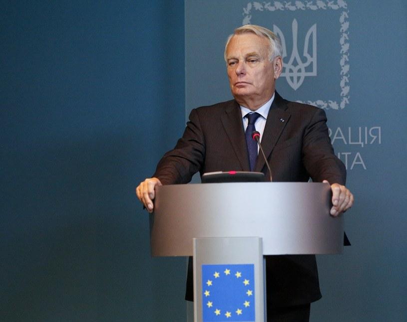 Szef MSZ Francji Jean-Marc Ayrault. /Sergei Chuzavkov /East News