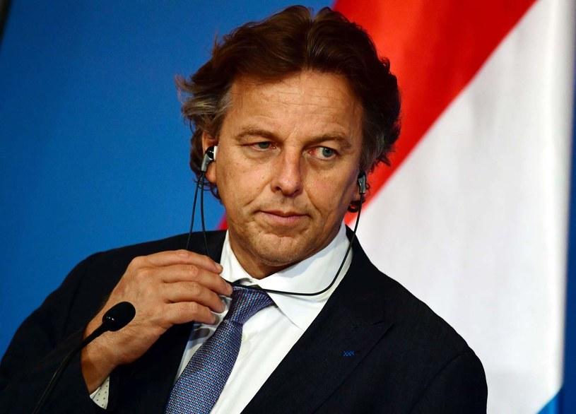 Szef MSZ Holandii Bert Koenders /AFP