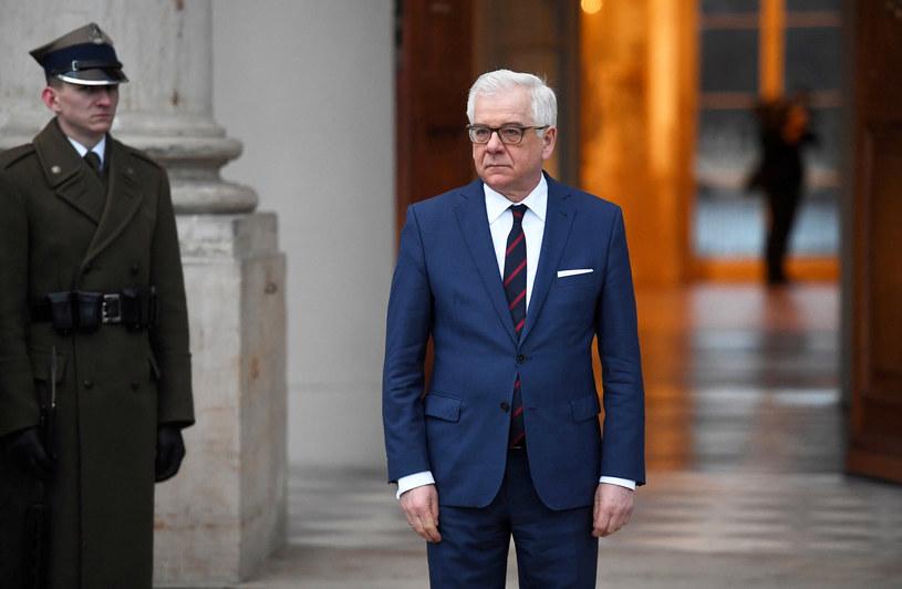 Szef MSZ Jacek Czaputowicz /Mateusz Jagielski /East News