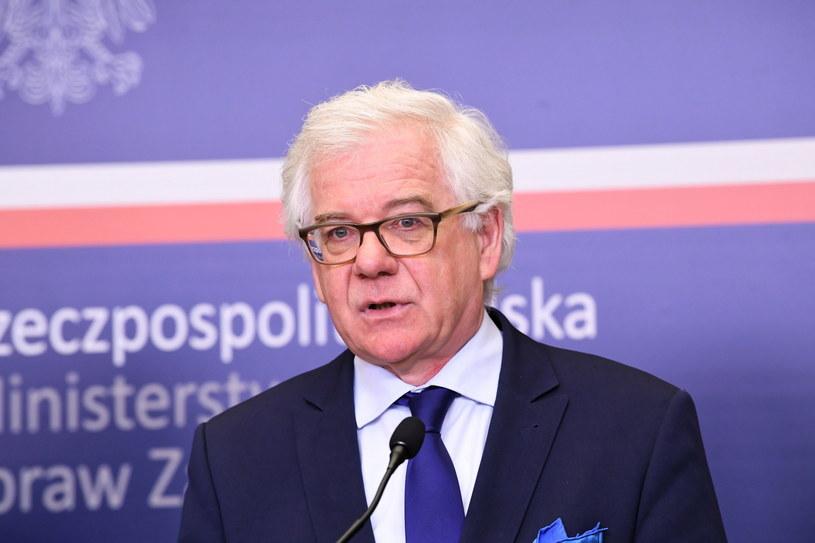 Szef MSZ Jacek Czaputowicz / Radek Pietruszka   /PAP