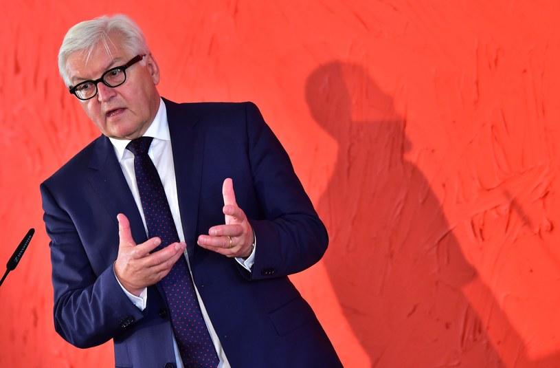 Szef MSZ Niemiec Frank-Walter Steinmeier /AFP
