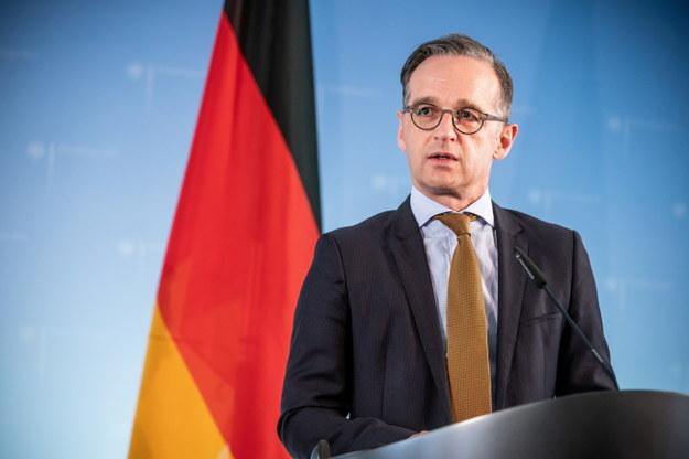 Szef MSZ Niemiec Heiko Maas /MICHAEL KAPPELER / POOL / AFP /PAP/EPA