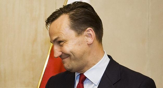 Szef MSZ Radosław Sikorski /AFP