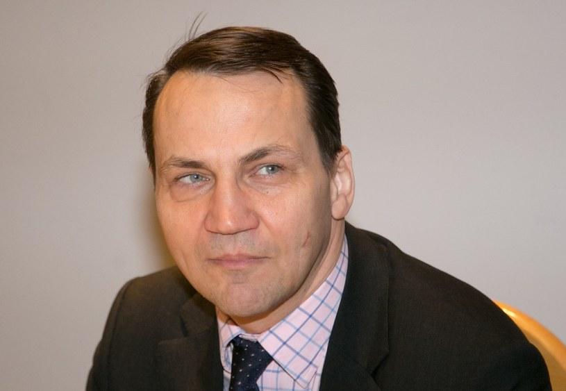 Szef MSZ Radosław Sikorski /Andrzej Iwańczuk /Reporter