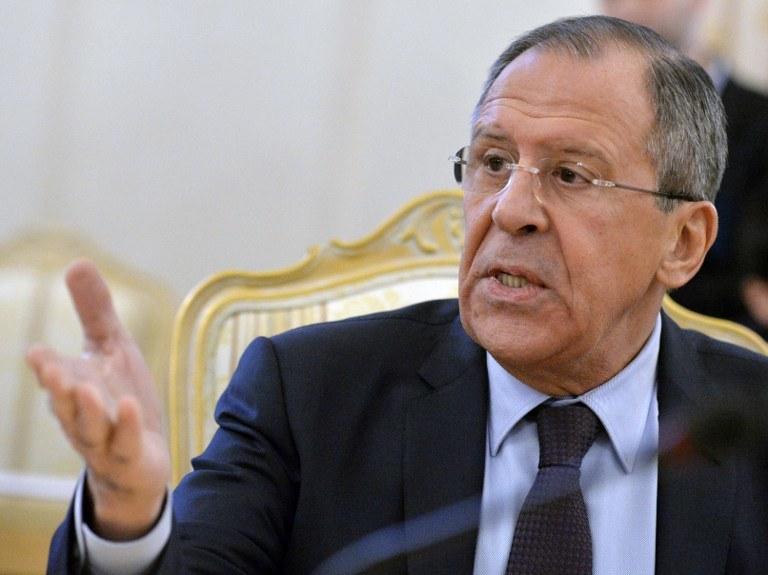 Szef MSZ Rosji Siergiej Ławrow grozi Gruzji /AFP