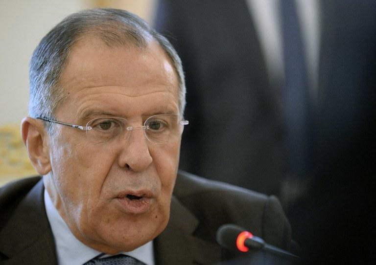 Szef MSZ Rosji, Siergiej Ławrow /AFP