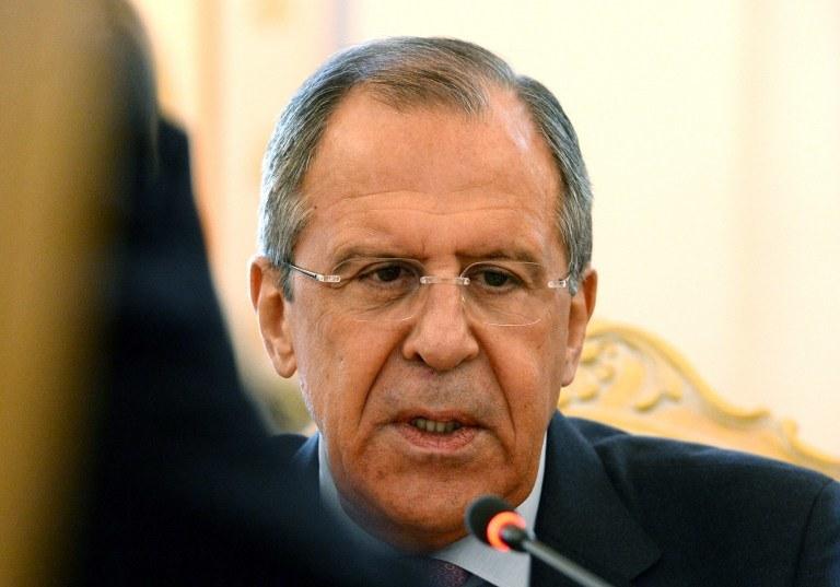 Szef MSZ Rosji Siergiej Ławrow /VASILY MAXIMOV /AFP