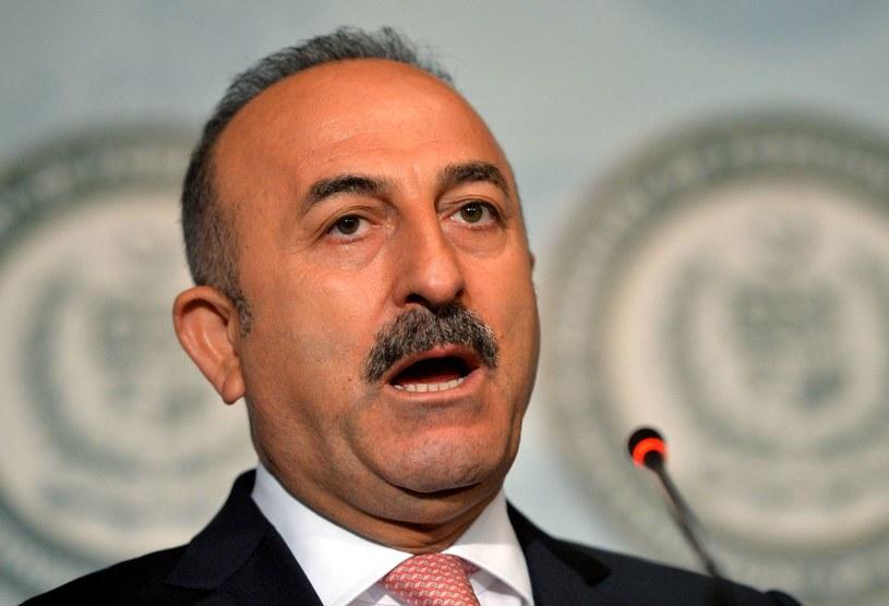 Szef MSZ Turcji Mevlut Cavusoglu /AFP