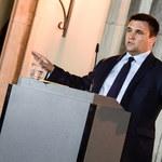 Szef MSZ Ukrainy wyraził wdzięczność za uchwałę Sejmu