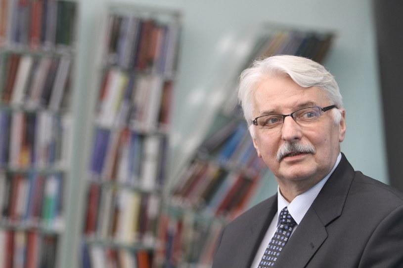 Szef MSZ Witold Waszczykowski /Leszek Szymański /PAP