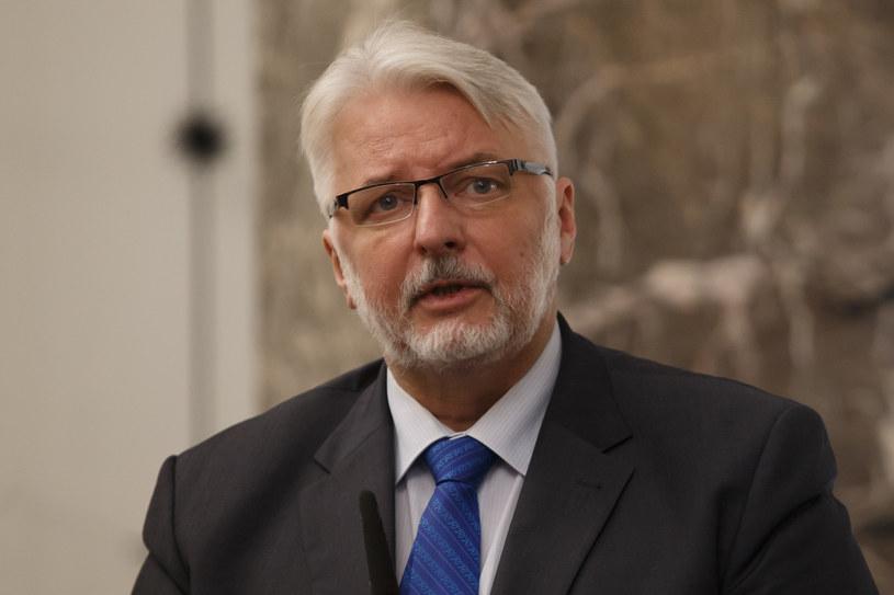 Szef MSZ Witold Waszczykowski /Krystian Maj /Agencja FORUM