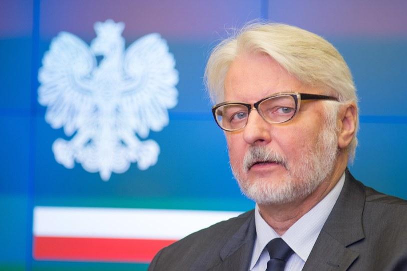 Szef MSZ Witold Waszczykowski /Daniel Gnap /East News
