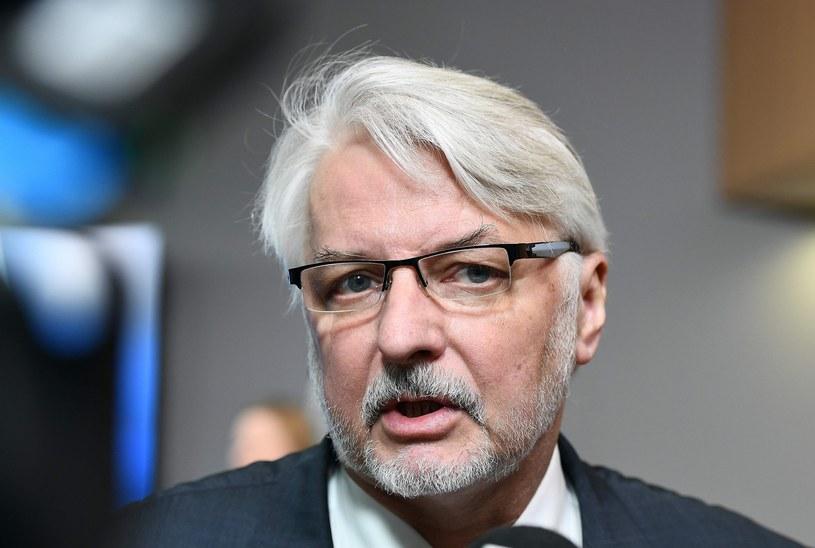 Szef MSZ Witold Waszczykowski /EMMANUEL DUNAND /East News