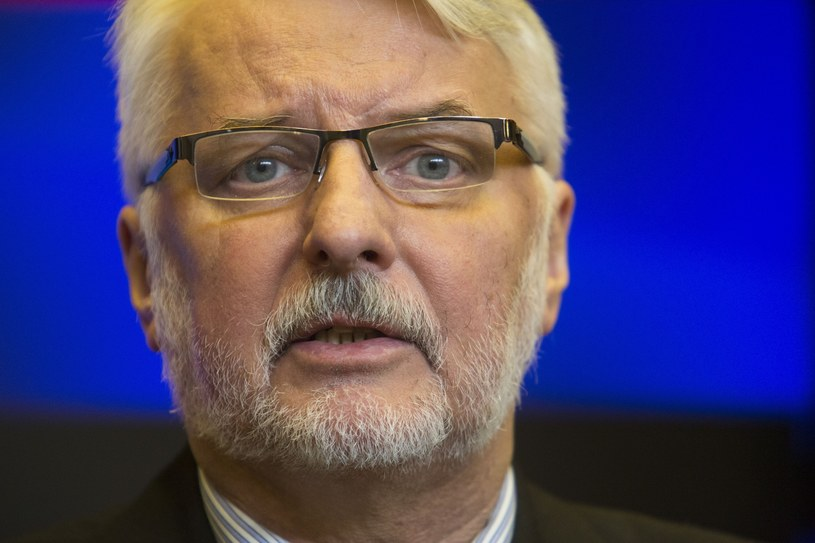 Szef MSZ Witold Waszczykowski /Andrzej Hulimka  /Reporter