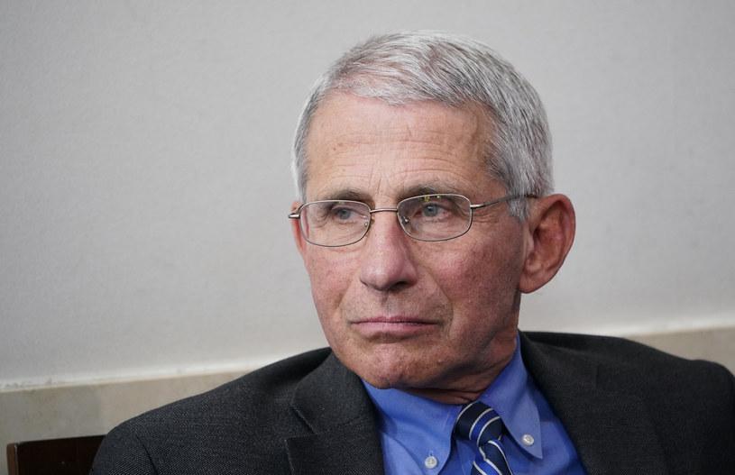 Szef Narodowego Instytutu Chorób Zakaźnych, Anthony Fauci /AFP