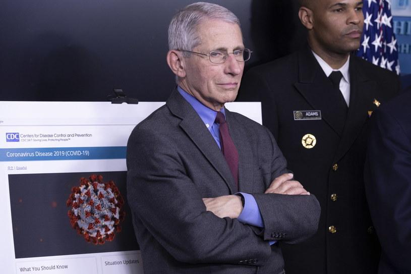 Szef Narodowego Instytutu Zdrowia Anthony Fauci /MICHAEL REYNOLDS    /PAP/EPA