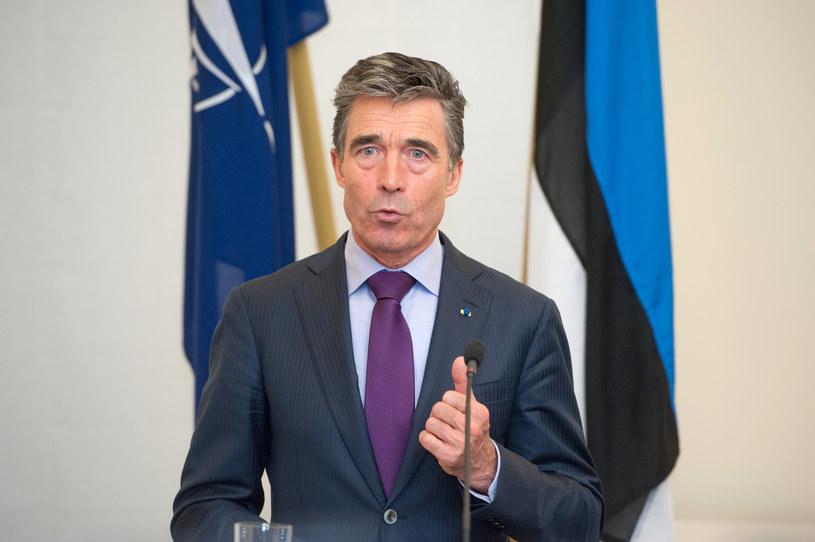 Szef NATO, Anders Fogh Rasmussen /AFP