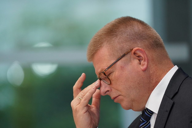 Szef niemieckiego kontrwywiadu Thomas Haldenwang /SEAN GALLUP / POOL /PAP