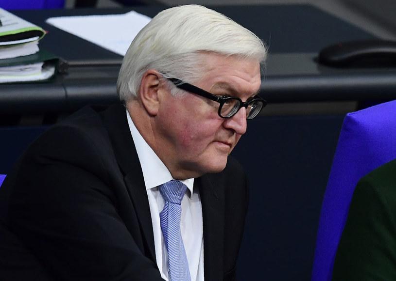 Szef niemieckiego resortu spraw zagranicznych Frank-Walter Steinmeier /AFP