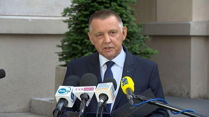 Szef NIK Marian Banaś /Polsat News