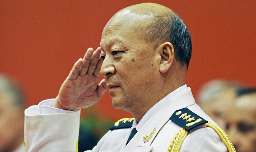 Szef operacji morskich marynarki wojennej Chin admirał Wu Shengli /AFP