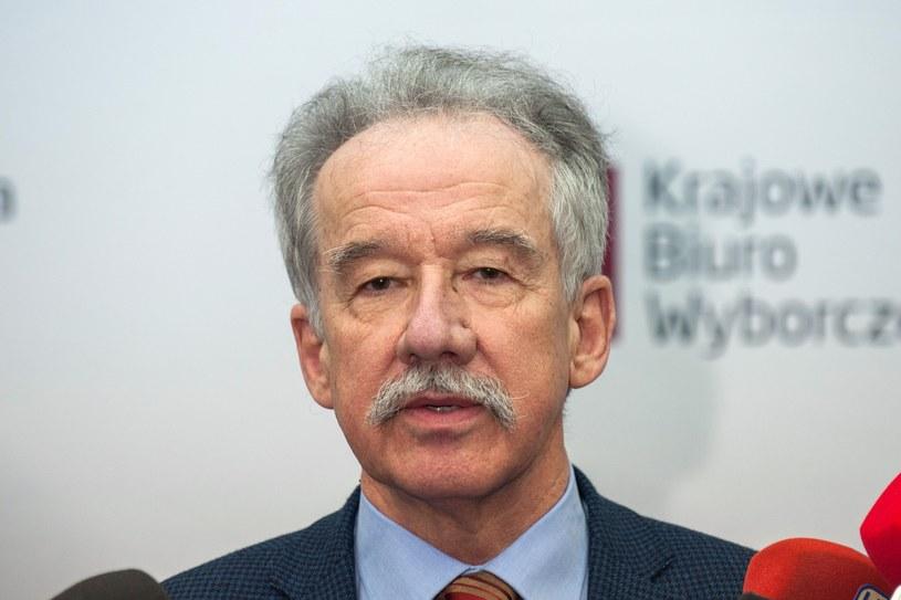 Szef Państwowej Komisji Wyborczej Wojciech Hermeliński /Grzegorz Krzyzewski /Reporter