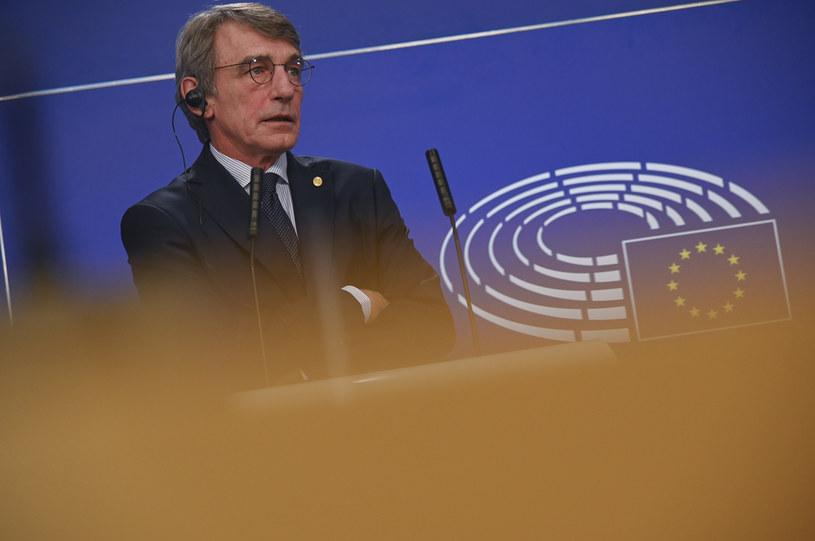Szef Parlamentu Europejskiego David Sassoli /Riccardo Pareggiani/NurPhoto /Getty Images