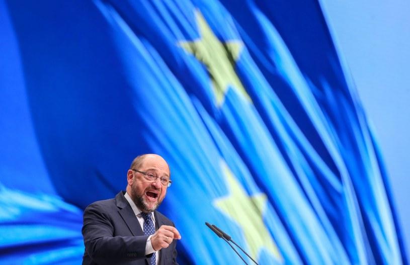 Szef PE Martin Schulz /Kay Nietfeld  /PAP/EPA