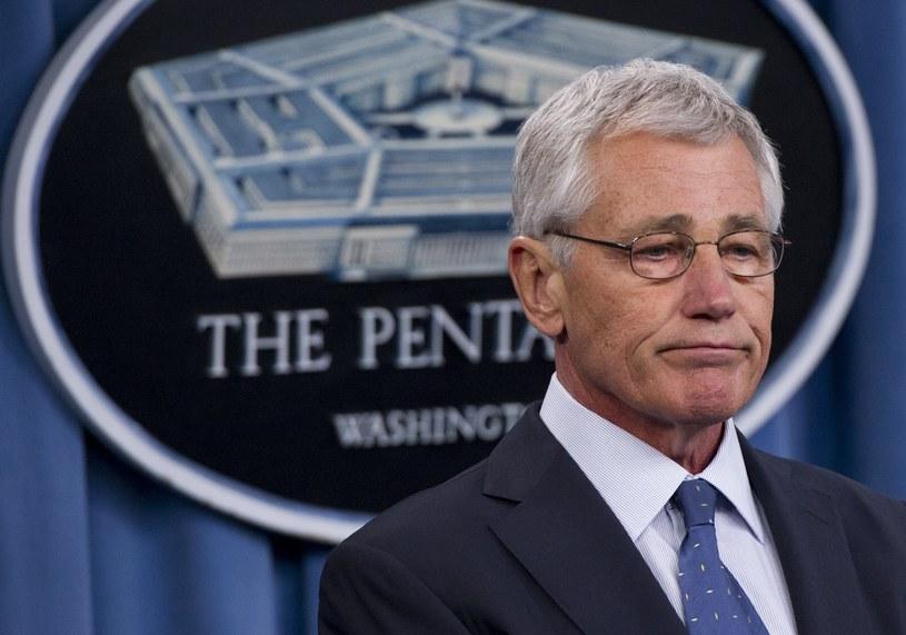 Szef Pentagonu Chuck Hagel /AFP