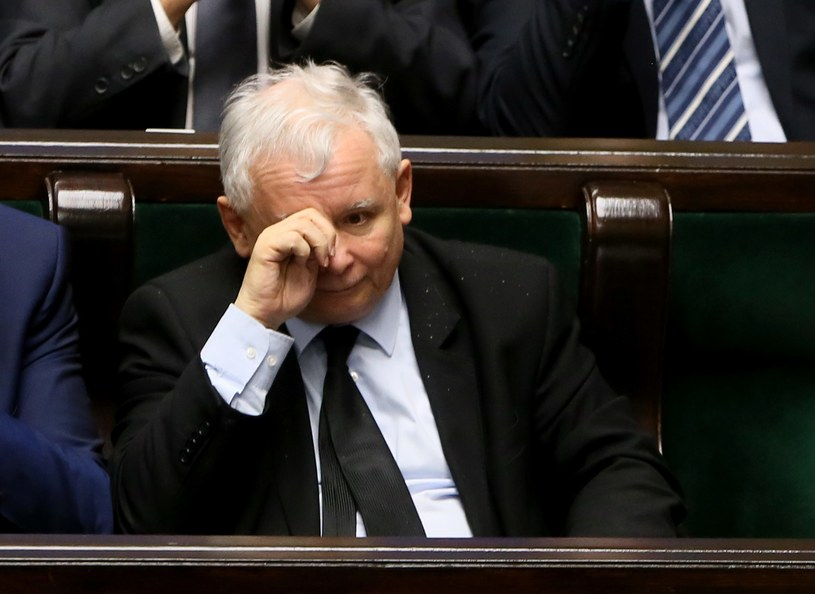 Szef PiS Jarosław Kaczyński /Tomasz Gzell /PAP