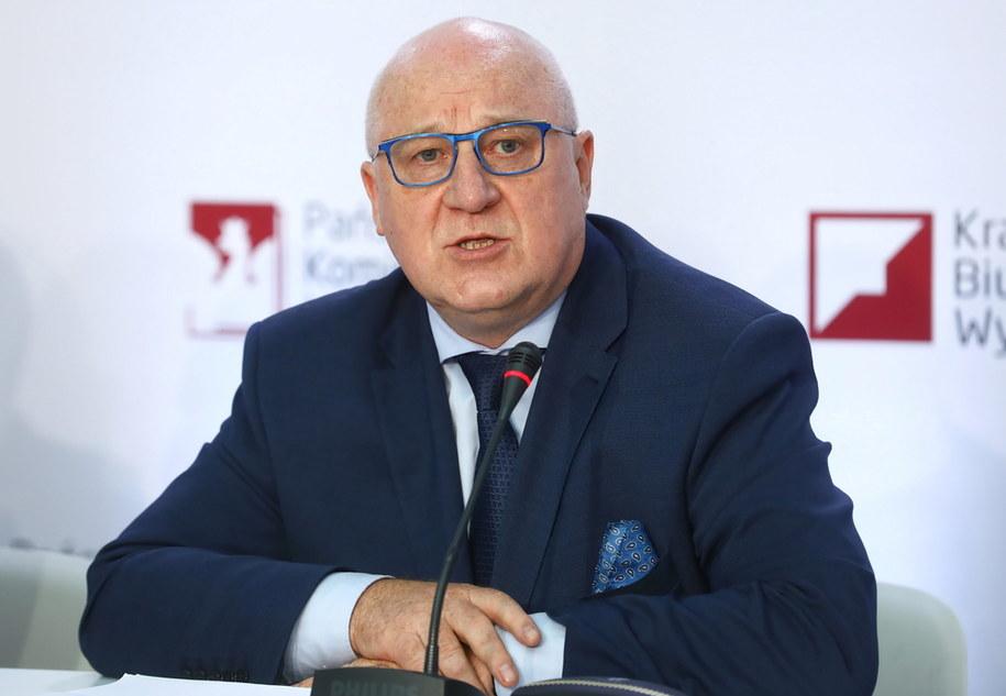 Szef PKW Sylwester Marciniak /Rafał Guz /PAP