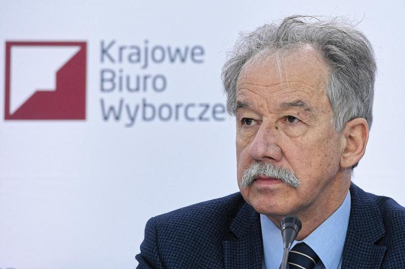 Szef PKW Wojciech Hermeliński /Radek Pietruszka /PAP