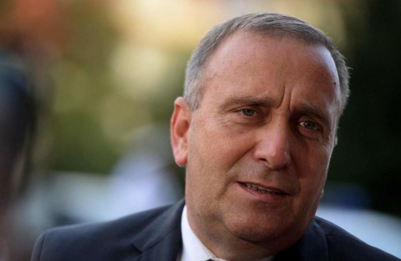 Szef PO Grzegorz Schetyna /AFP
