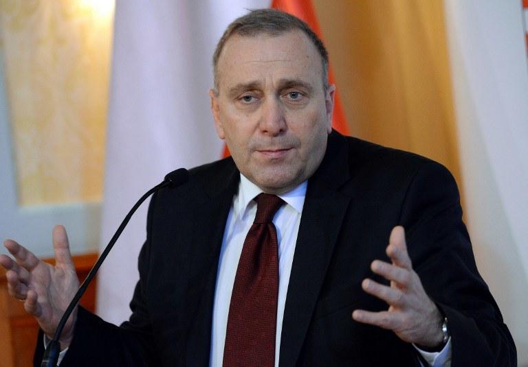Szef polskiego MSZ, Grzegorz Schetyna /AFP